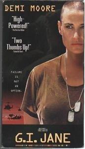 G.I. Jane (VHS) Demi Moore