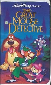 The Great Mouse Detective (VHS, Walt Disney 2xv) Black Diamond Series