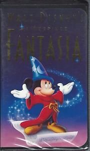 Fantasia (VHS, Walt Disney) Masterpiece Edition