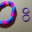 Triple Color Fishtail Bracelet