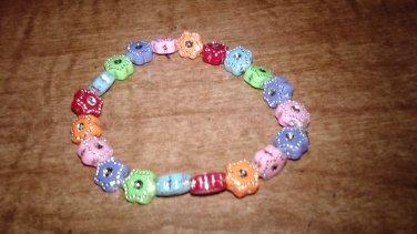 The Flower Rhinestone Bracelet