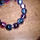Metalic Round Beaded Bracelet