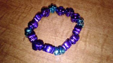 The Meltalic flower bracelet