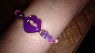 The Purple Lips Bracelets