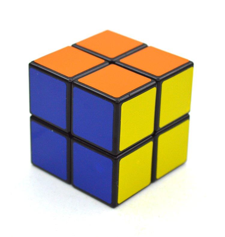 2x2x2 Mini Magic IQ Test Pocket Rubik's Cube Child Puzzle Toy