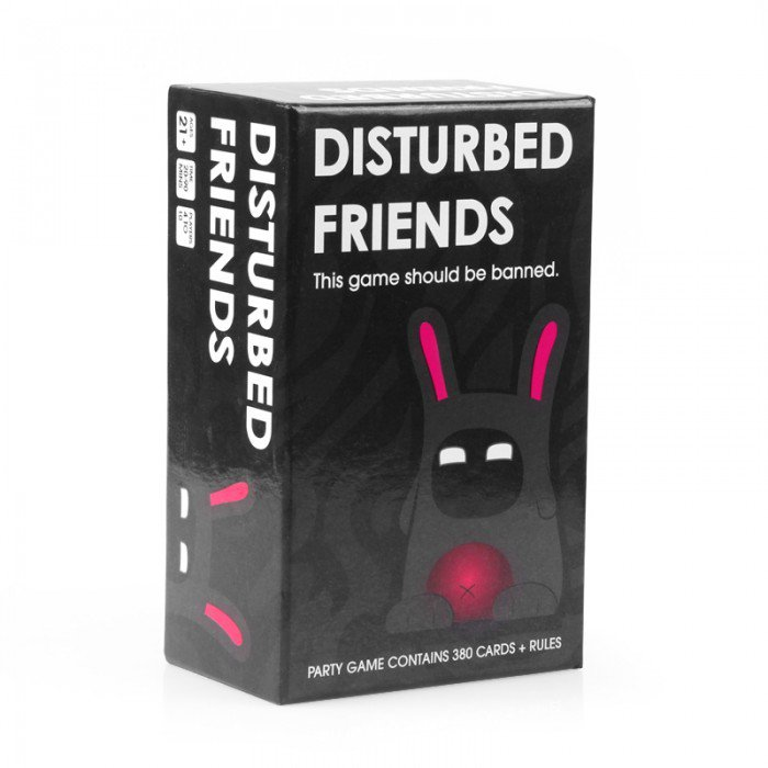 New Disturbed Friends-This game should be banned - Free Delivery