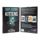 Imploding Kittens First Expansion of Exploding Kittens Party Game Free Delivery