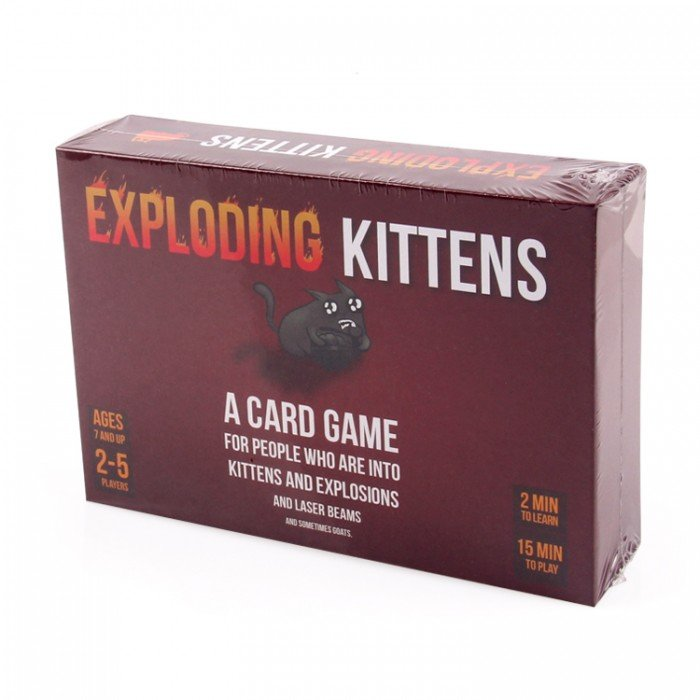 Brand New Exploding Kittens Original Edition Card Game - Free Delivery