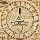 CANVAS Illuminati mystery symbols MASONIC FREEMASON Painting Stretched Decor