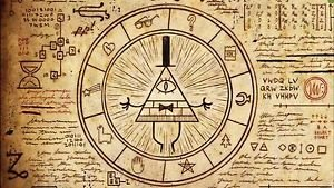 CANVAS Illuminati mystery symbols MASONIC FREEMASON Painting Stretched Decor
