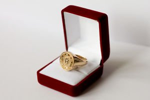 HANDMADE CUSTOM RING JEWELRY Men's Women Personalized Handcrafted free P&P