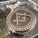 Masonic PENDANT Compasses Square MASON Sterling SILVER 925