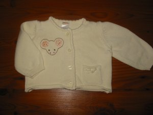 "Gymboree  ""Creatures Big And Small"" Button Up Sweater"
