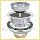 FREE S&H! AQUA PLUMB ALL STAINLESS STEEL DRAIN STRAINER & STOPPER 4 KITCHEN SINK