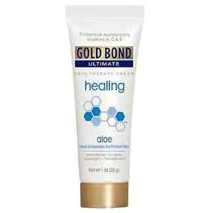 FREE S&H! 2-1oz TUBES GOLD BOND ULTIMATE HEALING CREAM W/ALOE & VITAMIN A C & E