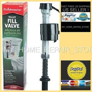 ! FAST FREE S&H !  FLUIDMASTER 400A ADJUSTABLE ANTISPHON TOILET TANK FILL VALVE