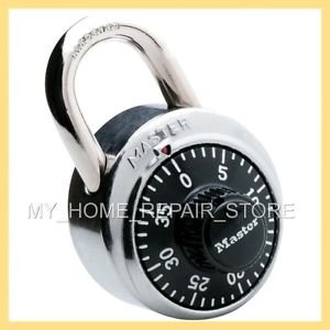 US SELLER! FAST FREE S&H! MASTER LOCK DIAL COMBINATION LOCK 1500D  LOCKER & BIKE