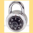 US SELLER! FAST FREE S&H! 3 NUMBER DIAL COMBINATION LOCK  LOCKER, BICYCLE & DOOR