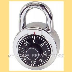 US SELLER! FAST FREE S&H! 3 NUMBER DIAL COMBINATION LOCK  LOCKER, BICYCLE & DOOR