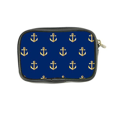 Gold Anchors Background Coin Purse