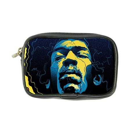 Gabz Jimi Hendrix Voodoo Child Poster Release From Dark Hall Mansion Coin Purse