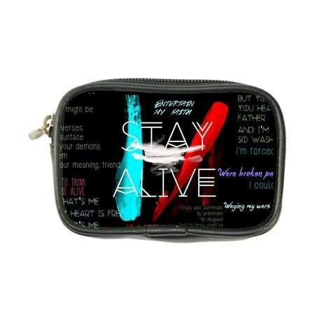 Twenty One Pilots Stay Alive Song Lyrics Quotes Coin Purse