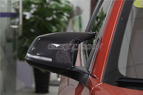 Replacement M3 M4 Look Carbon Fiber Side Mirror Cover For BMW F20 F21 F22 F23 F30 F21 F32 F33 F36