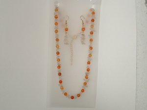 Necklace With Earrings Set