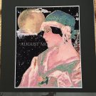 Metaphysical Art Print Full Moon Magic Moonlight Priestess Witch Wiccan Pagan Vintage Artwork