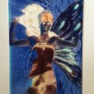 Sexy Hippie Boho Fairy Art Print Dark Moon Glow Magick Vintage Nymph Upcycled mixed media 8x10 decor