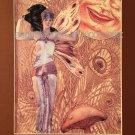 Enchanting Sultry Art Deco Fairy Sun Magic Art Print Glamorous nymph 11x14 Fantasy Mystical painting