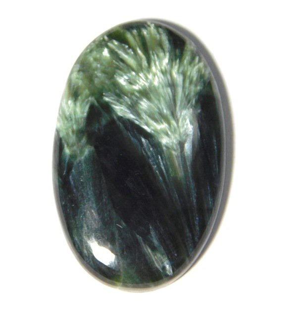 Seraphinite gemstone top quality cabochons 100% natural gemstone .