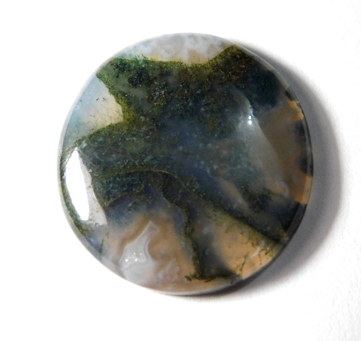Moss Agate natural gemstone top quality cabochons gemstone 100% natural stone .