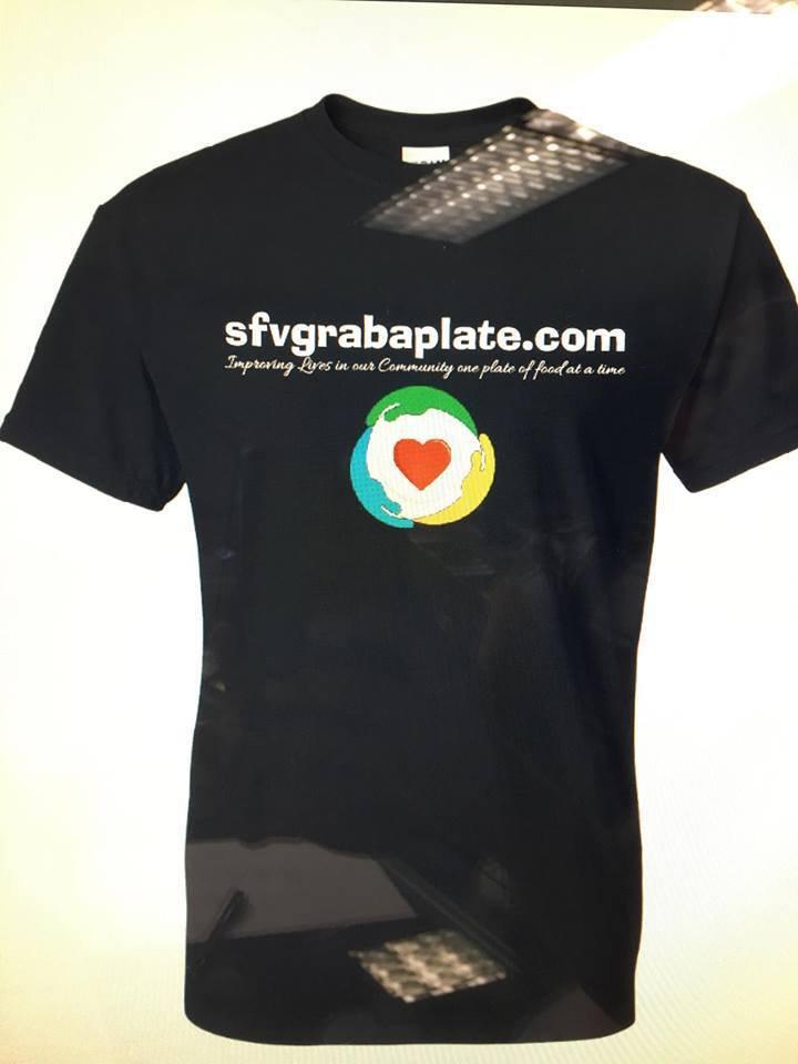 SFVGrabaplate $15.00 Tshirt Donation
