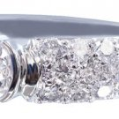 14K WHITE GOLD ROUND CUT DIAMOND ENGAGEMENT RING SEMI BEZEL 1.85CT G-VS2 EGL USA
