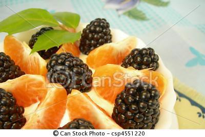 All Natural Blackberry Tangerine Scented Shampoo 2 Oz