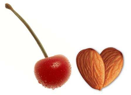 All Natural Cherry Almond Cream Scented Shampoo 2 Oz