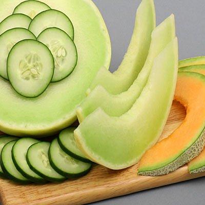 All Natural Cucumber Melon Scented Shampoo 2 Oz
