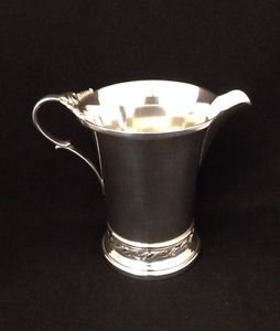 "Antique Quaker Sterling Silver #2823 3.75"" in Creamer 146.5 Grams No Monograms"