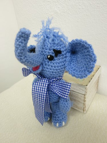Amigurumi Elephant Alan