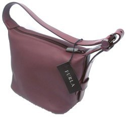 Small Furla Burgundy handbag