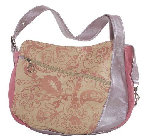Amykathryn Geranium Lavender Vegan Handbag
