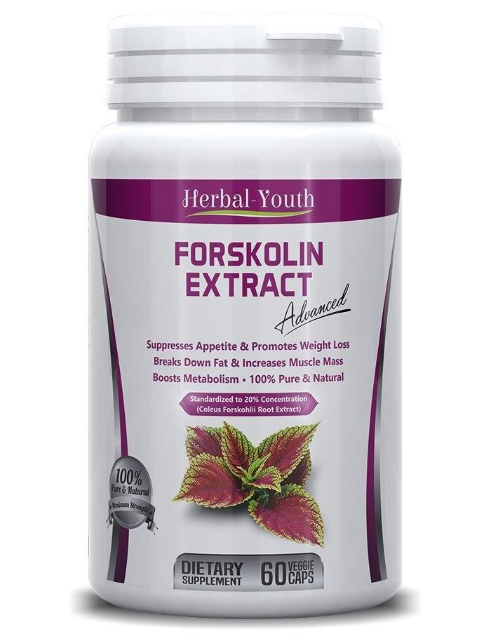 FORSKOLIN PILLS Coleus Forskohlii EXTRACT  3 x BOTTLES 180 Capsules