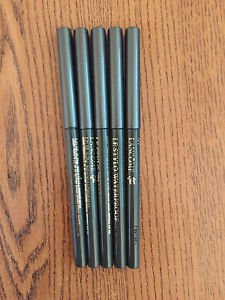 5X LANCOME LE STYLO WATERPROOF EYELINER IVY GREEN FULL SIZE NEW