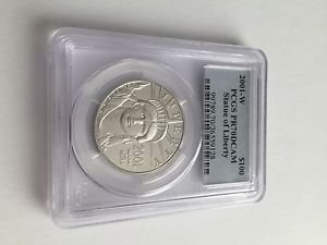 2001-W $100 PROOF PLATINUM EAGLE PCGS PR70DCAM 1OZ PERFECT