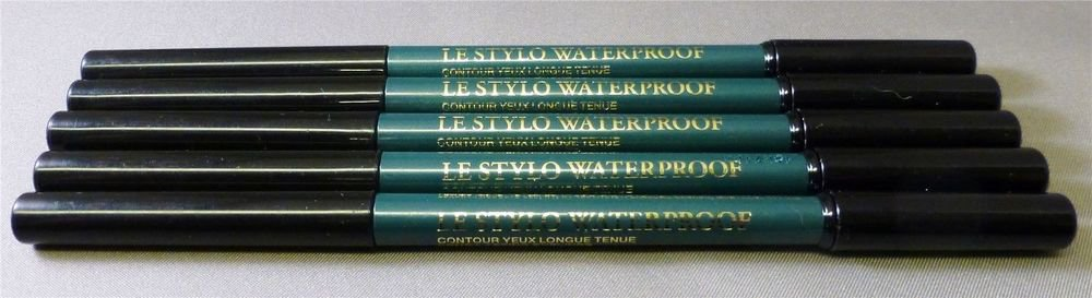 5X LANCOME LE STYLO WATERPROOF EYELINER HUNTER GREEN 501 FULL SIZE NEW