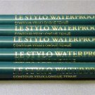 5X LANCOME LE STYLO WATERPROOF EYELINER HUNTER GREEN 501 FULL SIZE NEW