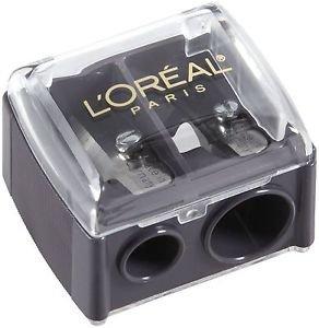 3X L'Oreal Paris Dual Eye/Lipliner Sharpener with Cover New
