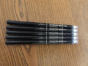 5X L'OREAL 16 HR  INFALLIBLE NEVER FAIL EYELINER  BLACK  0.008 OZ NEW