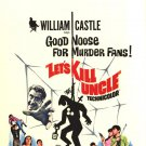 Let's Kill Uncle 1966 rare William Castle
